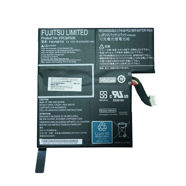 For Singapore | Genuine laptop battery for FUJITSU Stylistic R726 R727